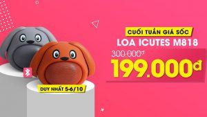 Tai nghe, loa bluetooth giá rẻ nay còn rẻ hơn, chỉ từ 199k sở hữu ngay