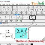 MathType Full Crack - Key Mathtype 7.4 - Acitve thành công 100%