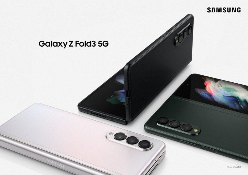 Samsung Galaxy Z Fold3 ra mắt với xếp hạng IPX8, hỗ trợ bút S Pen và camera dưới màn hình